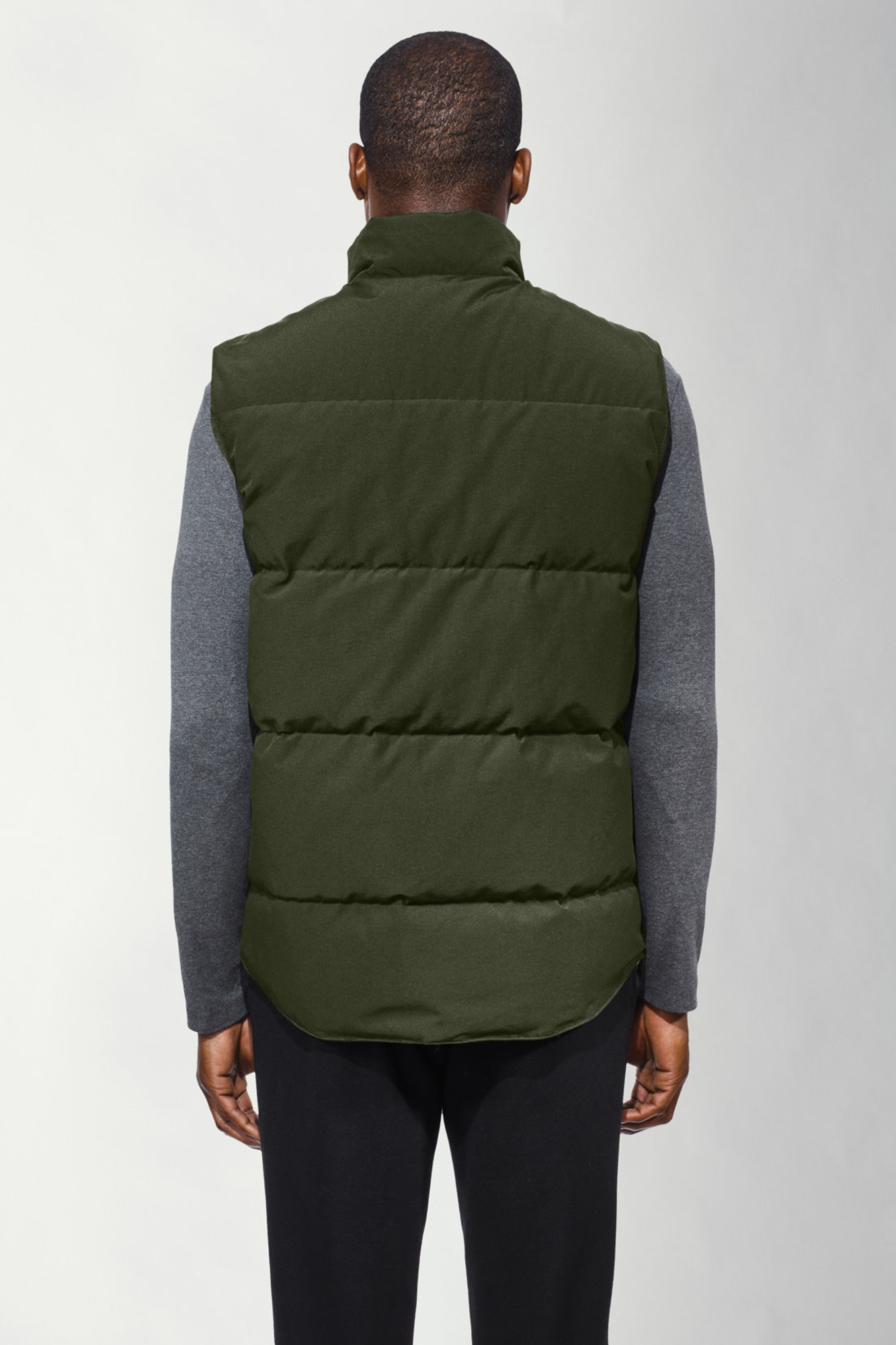 Outlet Military Green Canada Goose Vests Freestyle Crew Vest Canada Goose  Black Friday Sale 4154M 1cf22d910